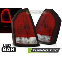 CHRYSLER 300C 05-08 RED WHITE LED BAR