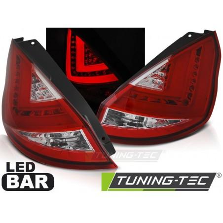 FORD FIESTA MK7 12-16 HB RED WHITE LED BAR
