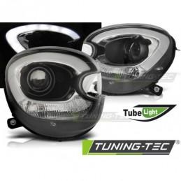 PHARES AVANTS TUBE LIGHT BLACK fits BMW MINI (COOPER) R60 R61 COUNTRYMAN 10-14