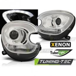 XENON PHARES AVANTS TUBE LIGHT CHROME fits BMW MINI (COOPER) R60 R61 COUNTRYMAN 10-14