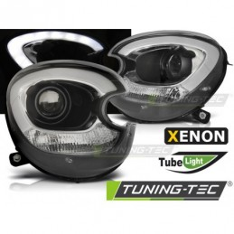 XENON PHARES AVANTS TUBE LIGHT BLACK fits BMW MINI (COOPER) R60 R61 COUNTRYMAN 10-14