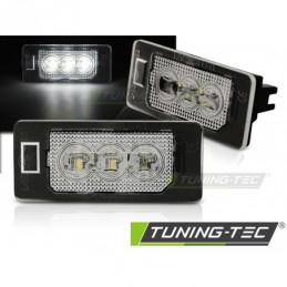 LICENSE LED LIGHTS 3xLED fits AUDI Q5 / A4 08-10 / A5 / TT / VW PASSAT B6 KOMBI