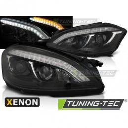 XENON PHARES AVANTS DAYLIGHT BLACK fits MERCEDES W221 05-09