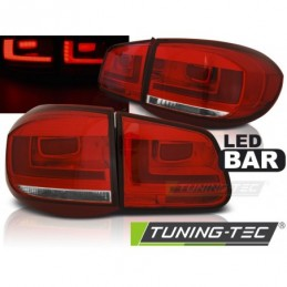 LED BAR FEUX ARRIERE RED WHIE fits VW TIGUAN 07-07.11