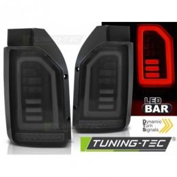 LED BAR FEUX ARRIERE SMOKE BLACK WHITE fits VW T6 15-19