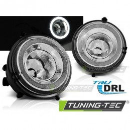 ANTIBROUILLARDS ANGEL EYES LED DRL fits BMW MINI COOPER R55, R56, R57