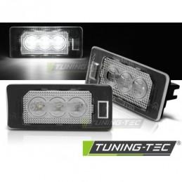 LICENSE LED 3x LIGHTS CLEAR fits BMW E90 / F30 / F32 / E39 / E60 / F10 / X3 / X5 / X6