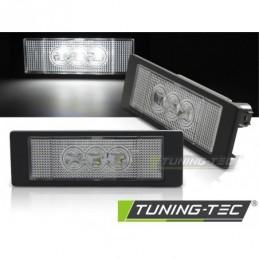 LICENSE LED 3x LIGHTS CLEAR fits BMW E63/E64/E81/E87/Z4/MINI