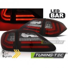 LEXUS RX III 350 09-12 RED WHITE LED SQL