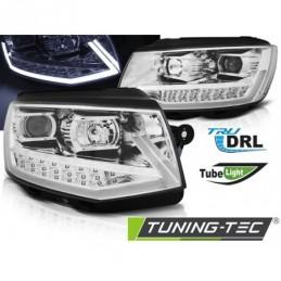 PHARES AVANTS TUBE LIGHT DRL CHROME fits VW T6 15-19