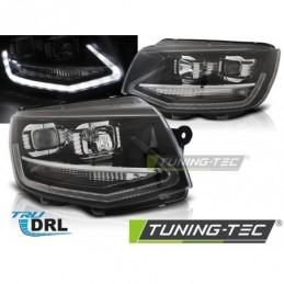 PHARES AVANTS TRUE DRL BLACK fits VW T6 15-19