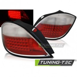 OPEL ASTRA H 03.04-09 5D RED WHITE LED