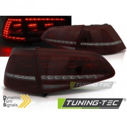 LED FEUX ARRIERE SPORT RED SMOKE SEQ fits VW GOLF 7 13-17