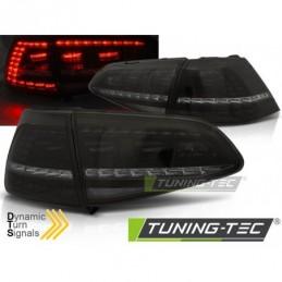 LED FEUX ARRIERE SPORT SMOKE SEQ fits VW GOLF 7 13-17