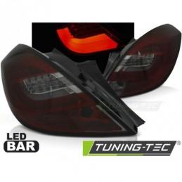 OPEL CORSA D 3D 04.06-14 RED SMOKE LED BAR