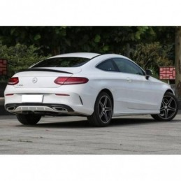 Aileron Mercedes W205 2014-2018 Coupe Look AMG Carbone