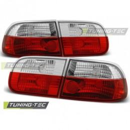 HONDA CIVIC0 9.91-08.95 3D RED WHITE, Civic 5 92-95