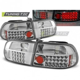 HONDA CIVIC 09.91-08.95 3D CHROME LED, Civic 5 92-95
