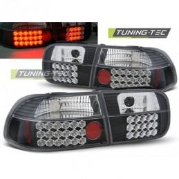 HONDA CIVIC 09.91-08.95 2D/4D BLACK LED, Civic 5 92-95