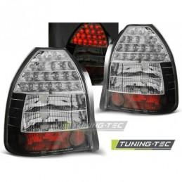 HONDA CIVIC 09.95-02.01 3D BLACK LED, Civic 6 96-00