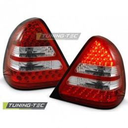 LED FEUX ARRIERE RED WHITE fits MERCEDES W202 C-KLASA 06.93-06.00, Classe C W202