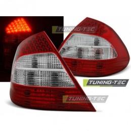 LED FEUX ARRIERE RED WHITE fits MERCEDES W211 E-KLASA 03.02-04.06, Classe E W211